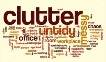 clutter collage